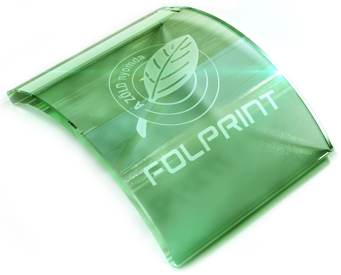 Folprint üveg gravírozás