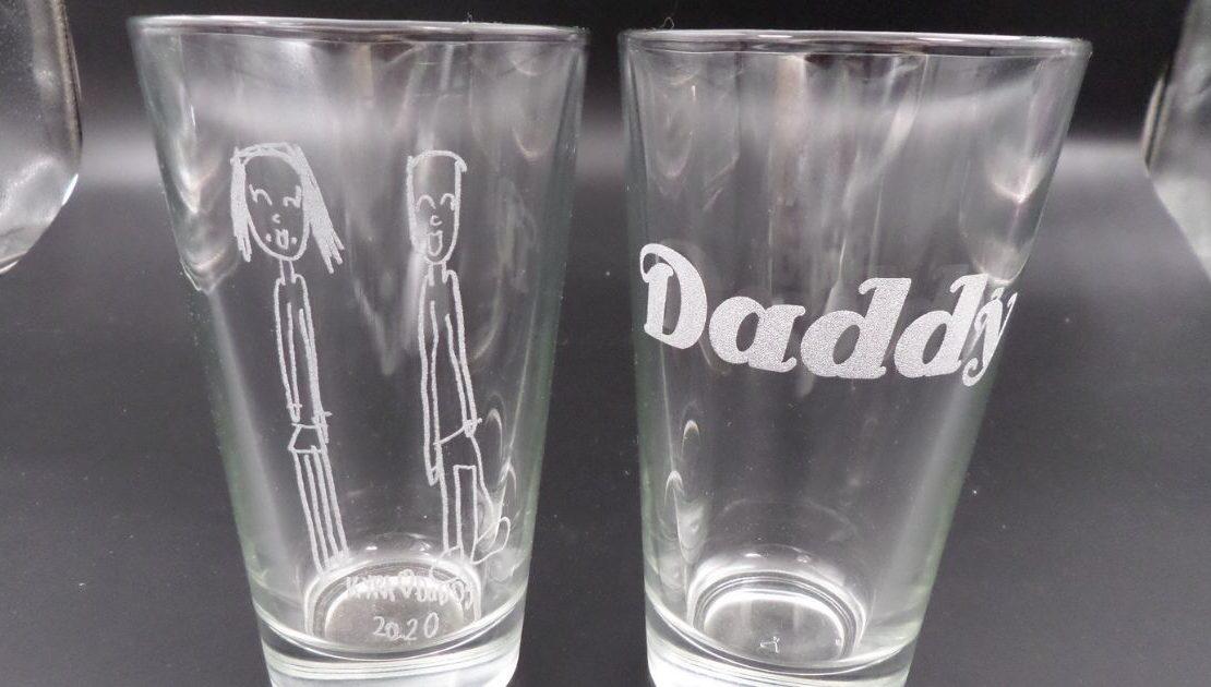 gravírozás pohárra